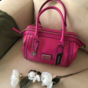 Hot pink Guess shoulder bag! NWT